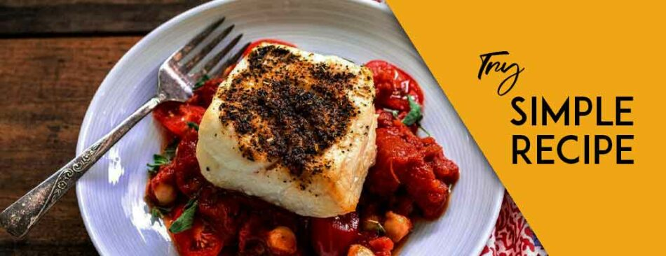 Simple Baked Chilean Sea Bass Recipe