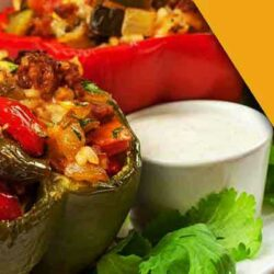 simple stuffed bell peppers recipe
